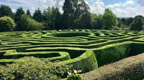 Greenan Maze Featured Photo