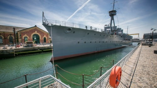 HMS Caroline Featured Photo