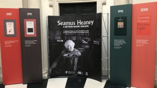 Seamus Heaney: Listen Now Again Featured Photo
